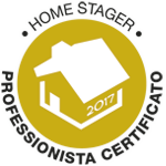Logo Home Stager Professionista Certificato
